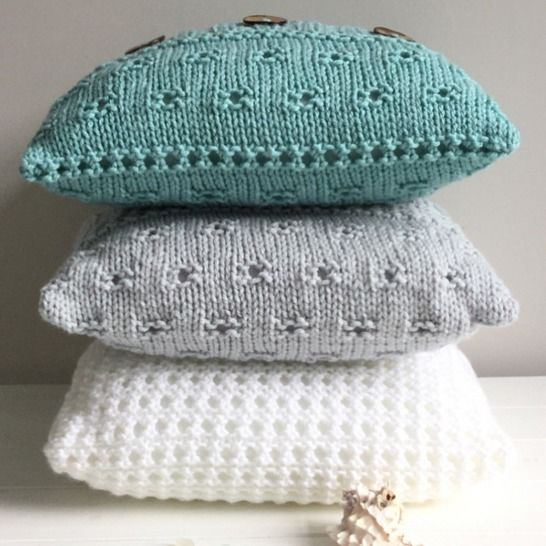 3 Seaide Cushion Covers - 41cm,16in sq  at Makerist - Image 1