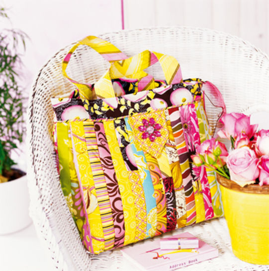 Tasche aus Stoffstreifen bei Makerist - Bild 1