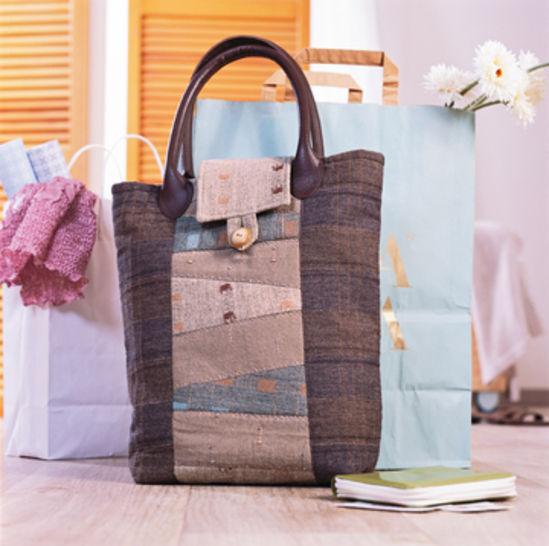 Braune Einkaufstasche bei Makerist - Bild 1
