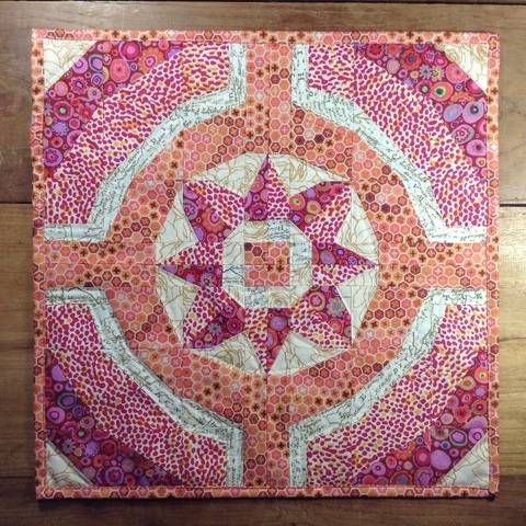 Flower Ring - Eine Patchwork Nähanleitung (Nähen auf Papier)
