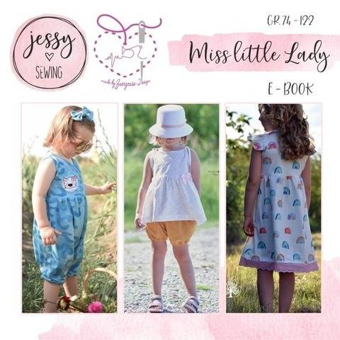 *miss little lady* Baukasten Sommer eBook Jumpsuit Kleid bei Makerist