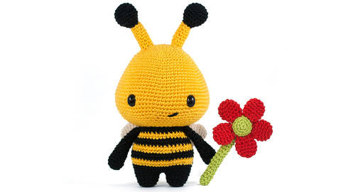 Barry the Biene Amigurumi häkelanleitung bei Makerist