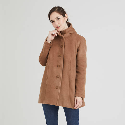 Nora - 3/4 length coat - US/UK :  2/6 - 14/18 - advanced at Makerist