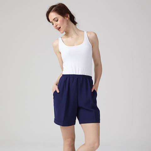Pierre - Mid-thigh short - US/UK  : 4/8 - 12/16 - beginner at Makerist