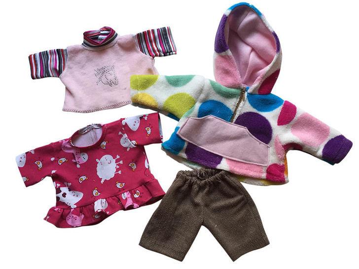 Winter-Basics für Puppen, 3 Größen bei Makerist - Bild 1