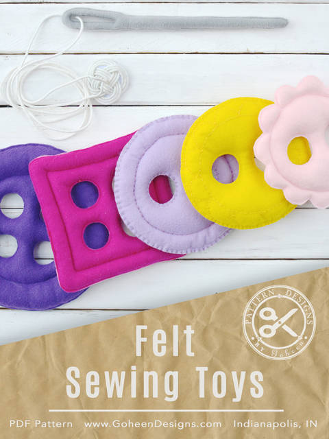 Felt Sewing Toys at Makerist