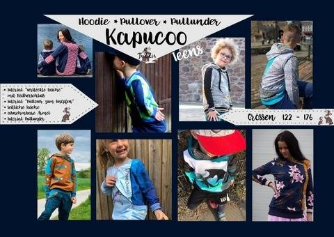 "Hoodie ""Kapucoo Teens"" inkl. Minigewerbelizenz bei Makerist"