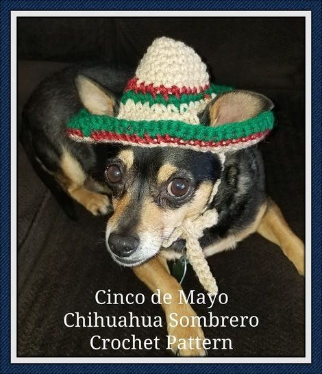 Small Dog or Cat Sombrero at Makerist - Image 1