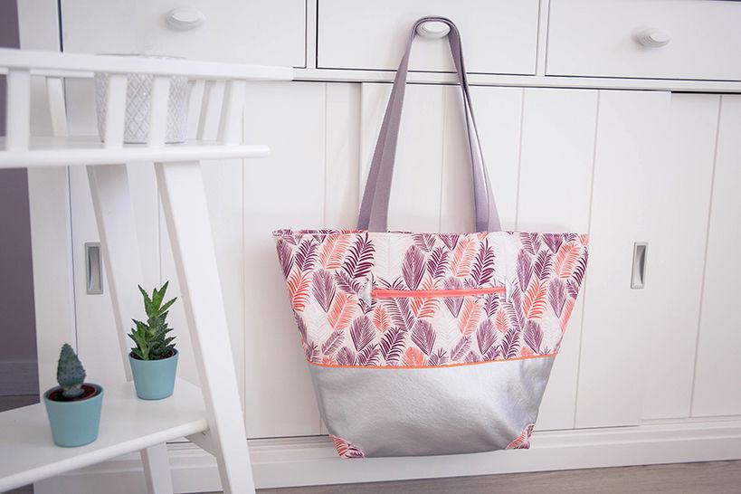 Le combiné des 3 tailles :Sasha le cabas des jolis jours  chez Makerist - Image 1