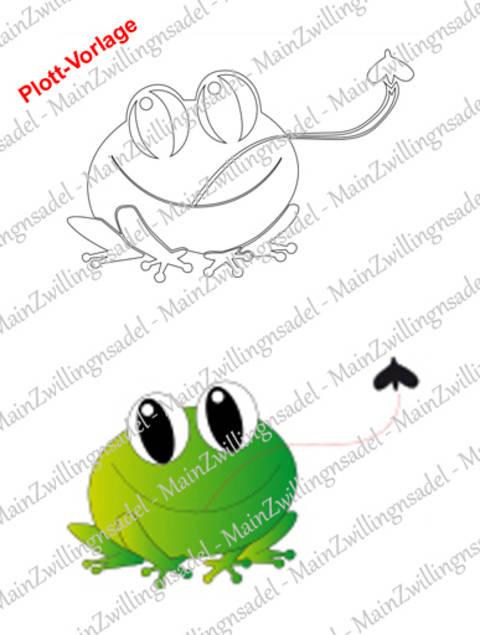 Main KeinPrinzen-Frosch – Plott-Vorlage bei Makerist