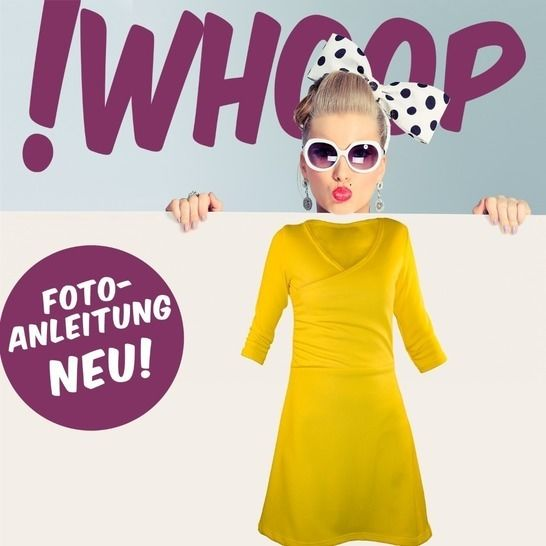 !Whoop No 23 Kleid Schnitt&Anleitung 32-46 bei Makerist - Bild 1