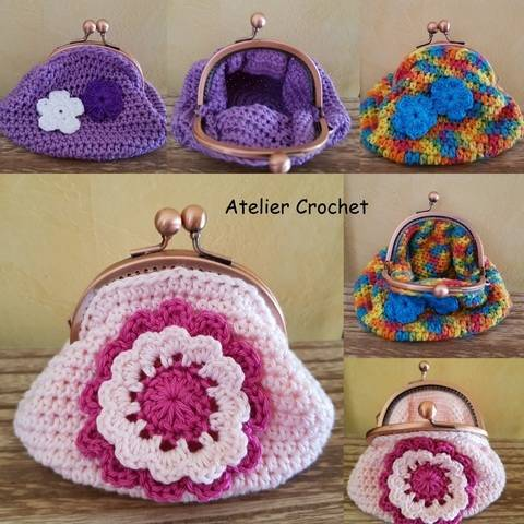 """Coin Purses"" crochet pattern at Makerist"