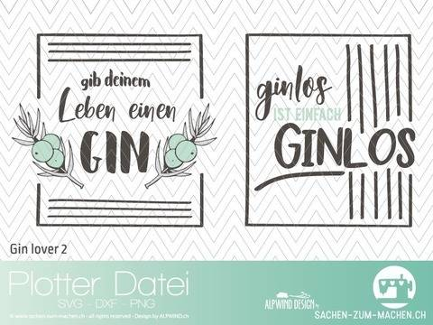 "Plotter-Datei ""GIN lover"" #2"