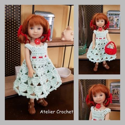 """""""Miss in bunches"""" crochet pattern for Heartstring Doll at Makerist"""