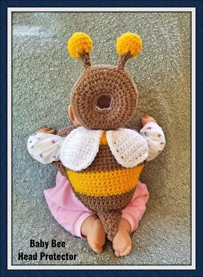 Baby Bee Head Protector at Makerist - Image 1