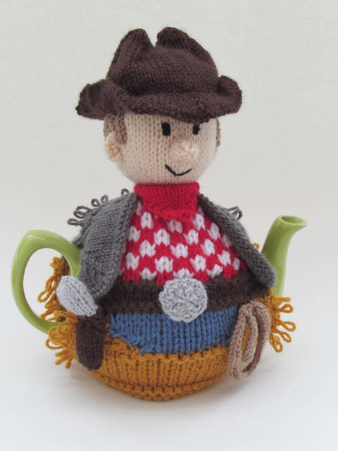 American Cowboy Tea Cosy Knitting Pattern at Makerist