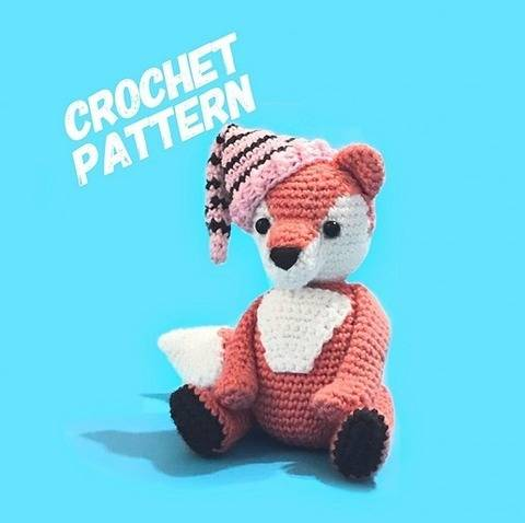 Rocks The Fox Amigurumi