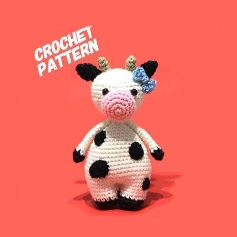 Amigurumi Cow Toy