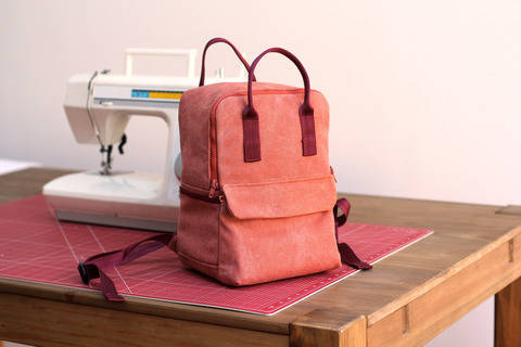 Mini Cesar Rucksack Pattern at Makerist