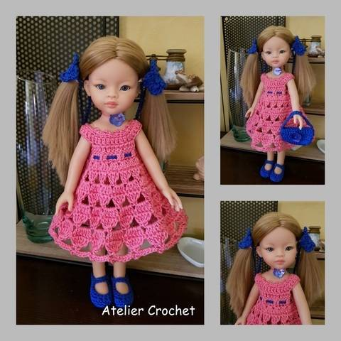 """""""Miss in bunches"""" crochet pattern for Paola Reina at Makerist"""