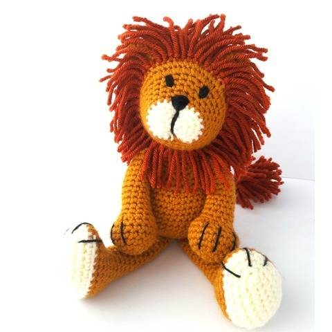 Lion Toy - Alfred the Lion at Makerist