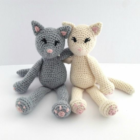 Cat Crochet Pattern - The Kitty Cats at Makerist - Image 1