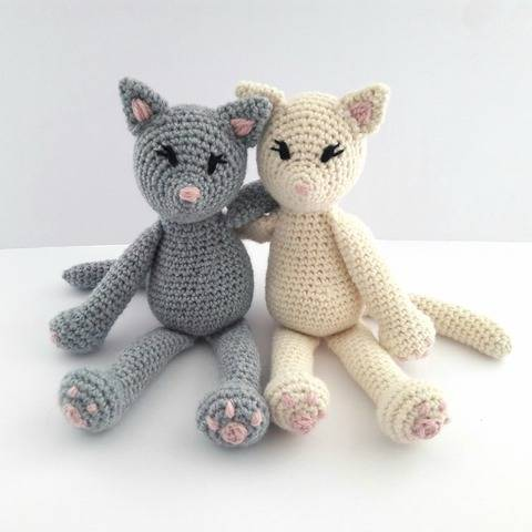 Cat Crochet Pattern - The Kitty Cats at Makerist
