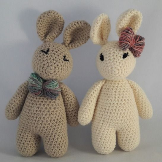 Bunny Pattern - Complete Beginner Pattern at Makerist - Image 1