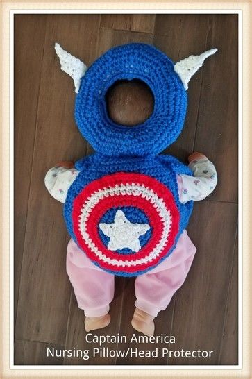 Captain America Head Protector at Makerist - Image 1