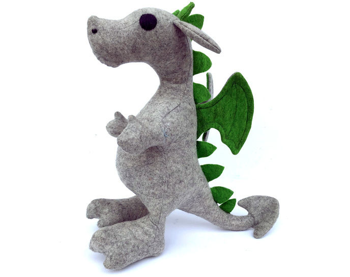 Dragon sewing pattern - instant download pdf at Makerist - Image 1