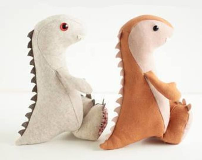 Dinosaur sewing pattern - instant download pdf at Makerist - Image 1