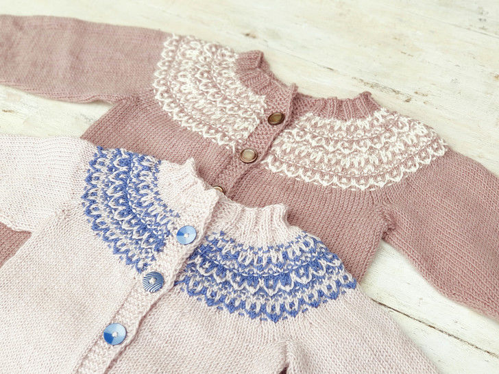 Baby and Toddler Cardigan, Knitting Pattern  at Makerist - Image 1