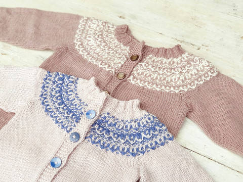 Baby and Toddler Cardigan, Knitting Pattern