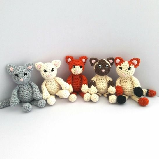Cute Kittens Crochet Pattern at Makerist - Image 1