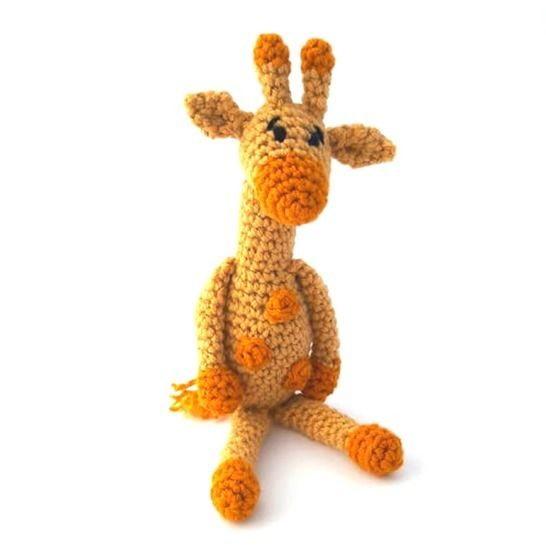Baby Giraffe Crochet Pattern at Makerist - Image 1