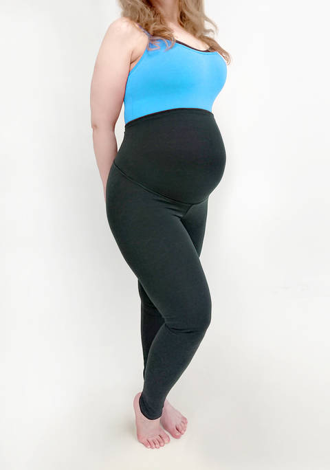 Plus Size Maternity Leggings Pattern PDF, L-4XL