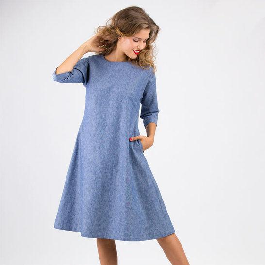 Schnittmuster und Nähanleitung Kleid Anna bei Makerist - Bild 1
