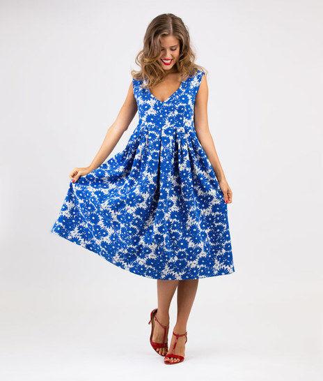 Schnittmuster und Nähanleitung Kleid Lucianda bei Makerist - Bild 1