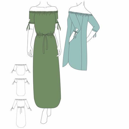 Bluse & Kleid MEKKO - Gr. 32 - 48 bei Makerist - Bild 1