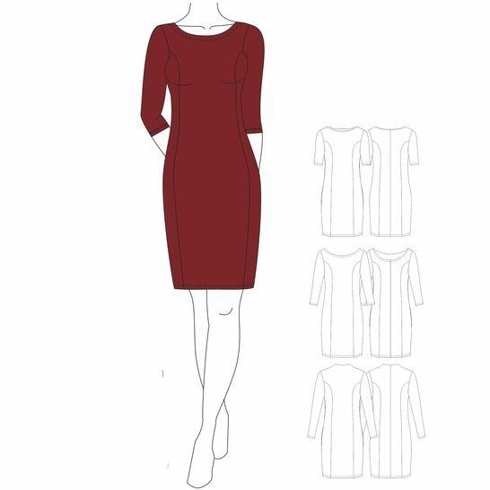 Kleid BRILLIANT - Gr. 32 - 50 bei Makerist - Bild 1