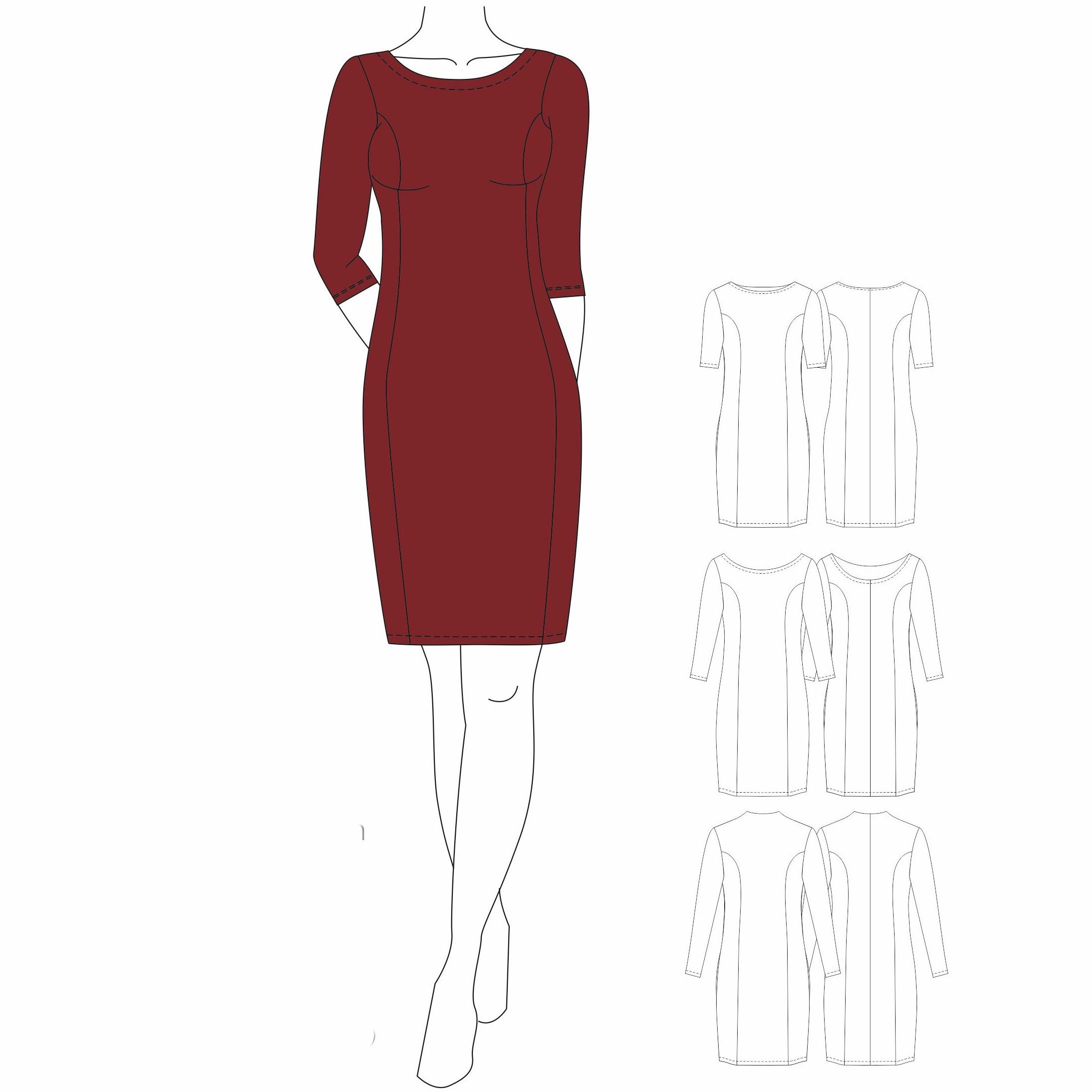 Kleid BRILLIANT - Gr. 32 - 50