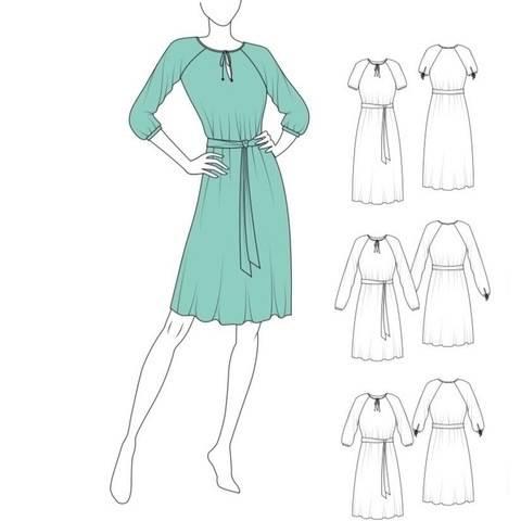 Kleid KALEA - Gr. 32 - 52 bei Makerist