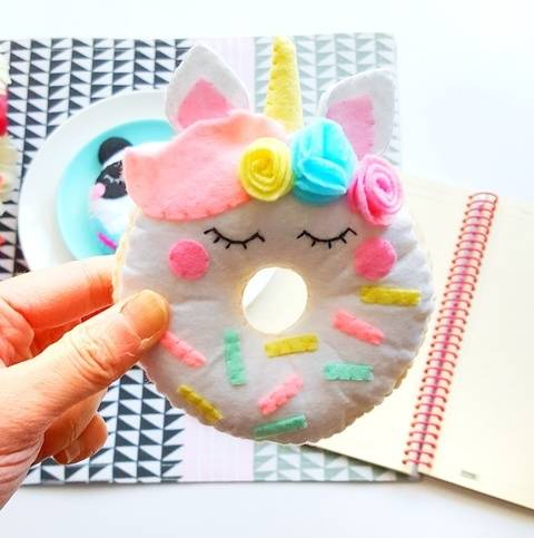 Unicorn Donut Sewing Pattern at Makerist