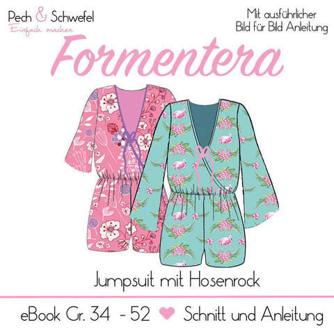 "E-Book – Jumpsuit ""Formentera"" Gr. 34 – 52 in A4A0 bei Makerist"