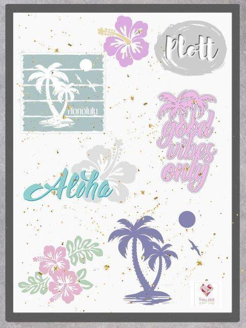 Plottdesign - Aloha  bei Makerist
