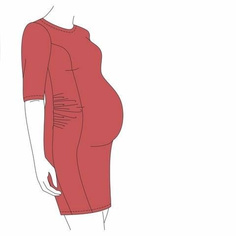 Umstandskleid - BRILLIANT - Erweiterung  bei Makerist