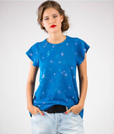 Schnittmuster und Nähanleitung Shirt und Kleid Laisa bei Makerist