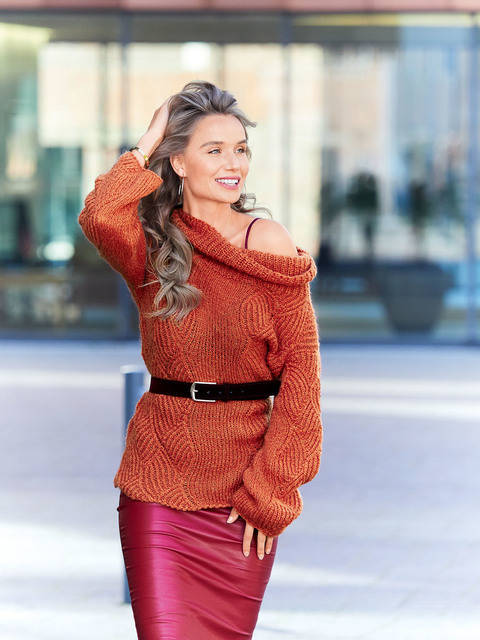 Pulli in Terracotta bei Makerist