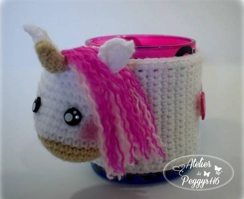 Unicorn Coffee Cup Cozy at Makerist