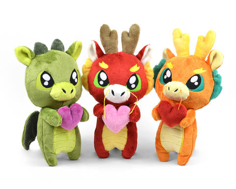 Baby Dragon Plush Stuffed Animal Toy Sewing Pattern